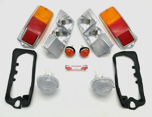 KIT FANALERIA BASIC ARANCIO PLUS FIAT 500 F L R
