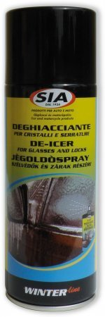 DEGHIACCIANTE CRISTALLI E SERRATURE SPRAY 400 ml