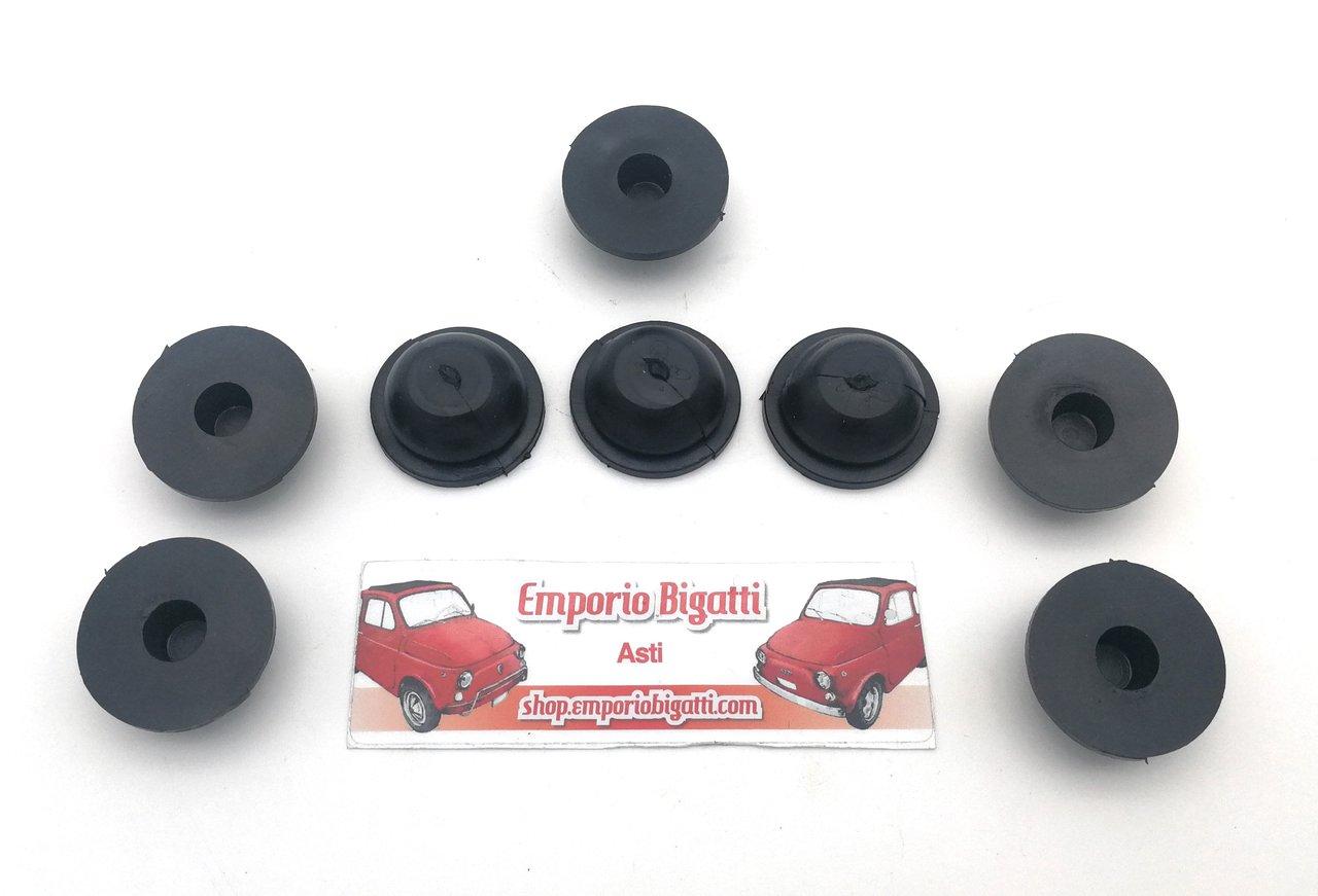 Kit 4 Gommini PARACOLPO PORTIERA Porte FIAT 500