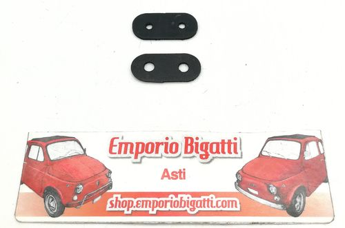 FIAT 500 F//L//R COPPIA RIVESTIMENTO IN JUTA SOTTO SEDUTA SEDILE ANTERIORE